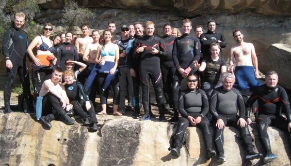 Sunday dive group