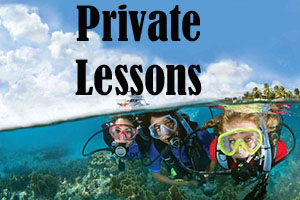 Private PADI Certification Course