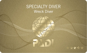 Wreck Diver Speciality