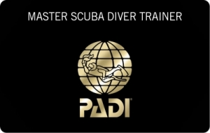 PADI Master Scuba Trainer