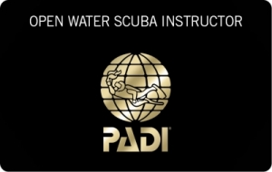 PADI Open Water Scuba Instructor