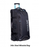 Steel 34 Wheeled Bag