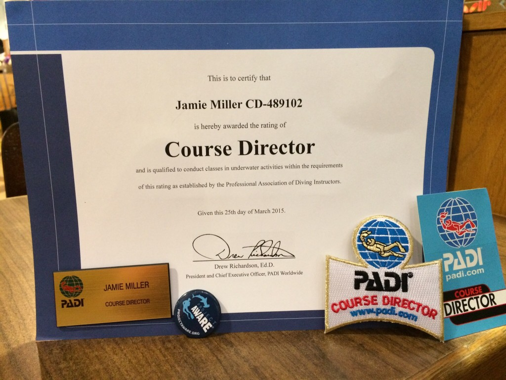 Becoming A Padi Course Director