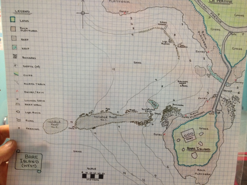 Divemaster Mapping Project Tips