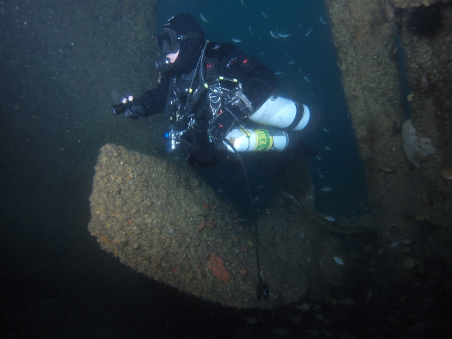 Diving The Ss Satara