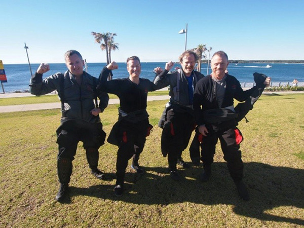 Padi Drysuit Course