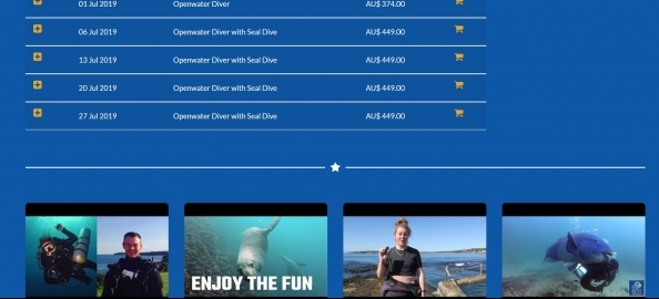 Eve Website Perfect For Dive Centers