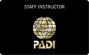 PADI Staff Instructor