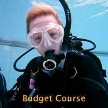 Budget PADI Open Water Course