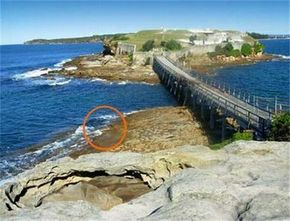 Bare Island Entry Eastern Side