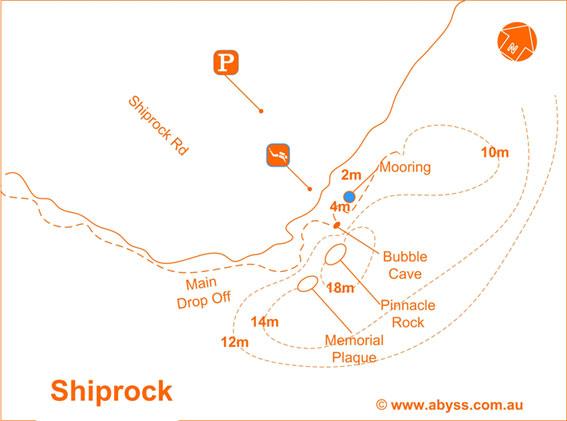 shiprock map
