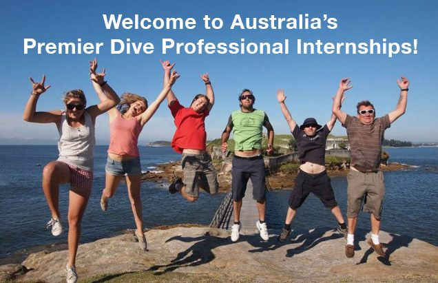 Australia's Premier Dive Instructor Internships